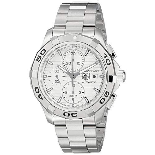 TAG Heuer Herren Analog Automatisch Uhr mit Edelstahl Armband CAP2111.BA0833