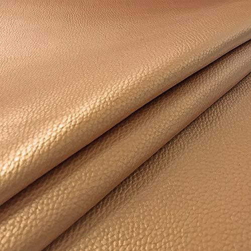 Tissu Doux en Cuir écologique, Similicuir, Vendu à Un Demi-mètre à partir de 50 CM (Longueur) x 140 CM (Largeur Fixe) - pour Meubles, canapés, chaises, Sacs, tapisseries.