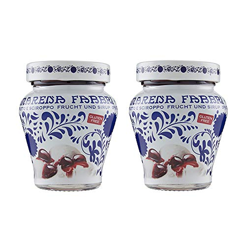 Fabbri Amarena Cherries In Syrup 81 Ounce Pack of 2