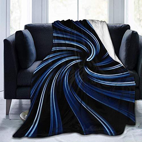 Hoswee Kuscheldecken,Überwürfe,Mikrofaser-Decke Rotating Whirlpool Super Soft Cozy Micro Plush Velvet Fleecedecke Warm Lightweight Bed Throw Blanket Luxury