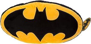 Batman 301000 - Cojín con Logotipo (tamaño Grande, 46 cm), Multicolor