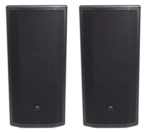 "(2) JBL Pro PRX835XW 15"" 3-Way 1500w Active Powered Speakers w/WIFI + Mobile App"