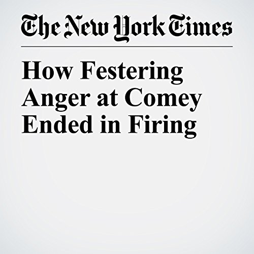 How Festering Anger at Comey Ended in Firing audiobook cover art