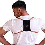 Posture Medic Dynamic Posture Brace for Neck, Upper and Lower Back - Long-Term Posture Correction Tool, Unlike Static Posture Correctors That Just Yank Shoulders Back, Extra Large Plus Strength, Orange