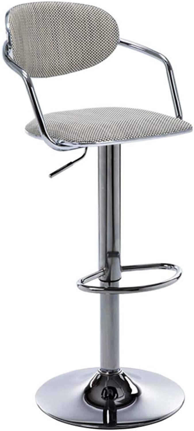 Rattan Bar stools, Nordic Bar Chairs Creative Personality Study Simple Leisure Desk Gaming Chair Fashion High Stool Chair-A