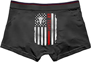 Diamonds Jun DiamondsJun American Nurse Flag Men's Vintage Panties