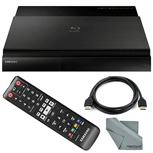 Fantastic Deal! Samsung BD-J7500 3D Smart Blu-Ray Disc Player with HDMI Cable + Remote + FiberTique ...