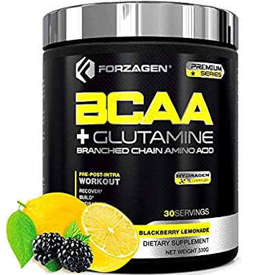 Forzagen Bcaa Powder Workout Recovery - Best BCAA | BCAAS Amino Acids | Electrolytes Keto Friendly | Hydration Powder| Bcaa Supplements | Post Workout Recovery Drink | Intra Workout