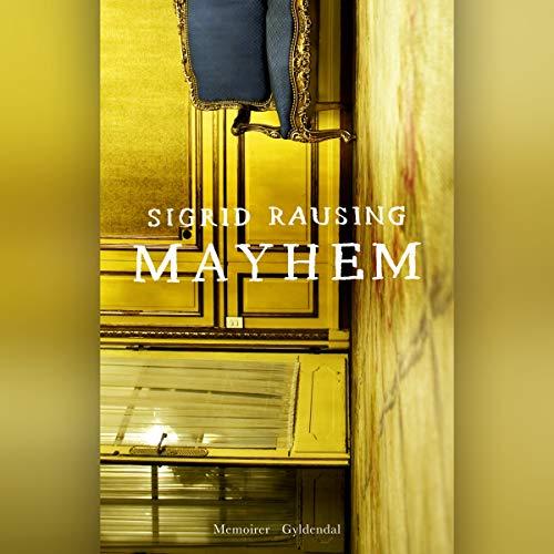 Mayhem audiobook cover art