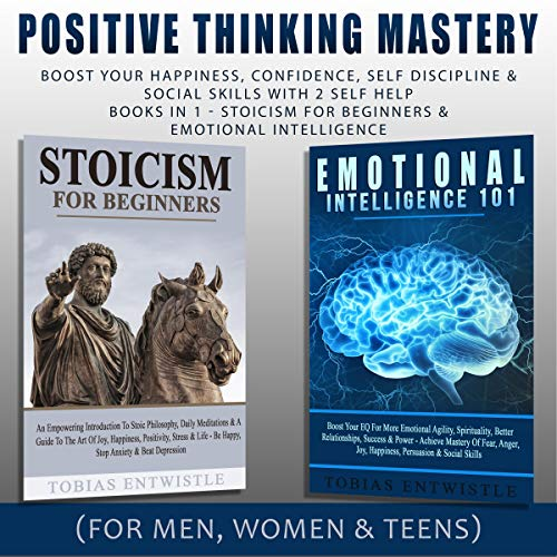 Positive Thinking Mastery audiobook cover art