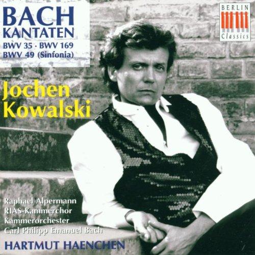 Johann Sebastian Bach: Kantaten Bwv 35 / 169 / 49