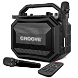 Portable Karaoke Machine Party Box with Bluetooth/AUX/USB/SD...