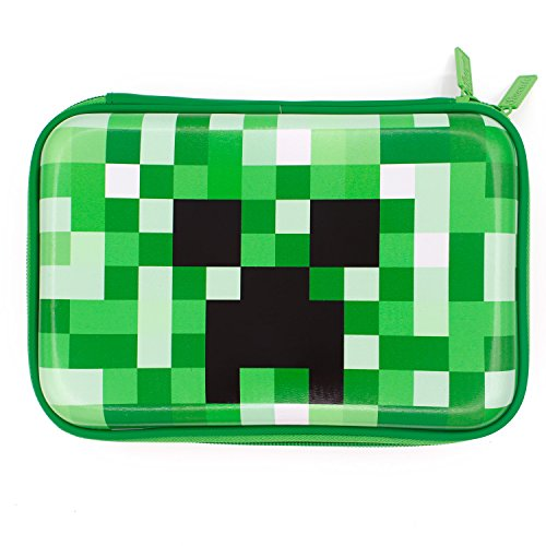 Green Pencil Case Boys Cute School Supply Organizer Cool Pen Box Holder Bag with Zipper for Kids
