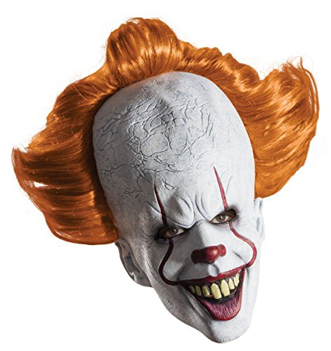 Máscara de látex Pennywise. It (Eso) Deluxe Stephen King