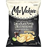 Miss Vickie's Kettle Cooked Lime & Black Pepper Potato Chips