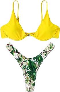 4f3462382e24 Amazon.es: tanga bikini - Amarillo