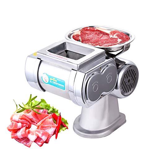 Cortafiambres Eléctrico,multifuncional cortadora comercial,cortadora carne con hojaacero inoxidable,cortadora profesional para frutas y...