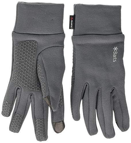 Barts Unisex Powerstretch Touch Gloves Handschuhe, Grau (ANTHRACITE 0019), Large (Herstellergröße: M/L)
