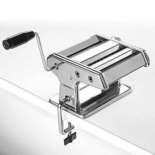 Metaltex Maquina para Pasta Italiana, Acero, Gris, 35x19x14 cm