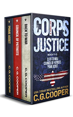 The Corps Justice Series: Books 1-3 (The Corps Justice Omnibus Book 1) by [C. G. Cooper]
