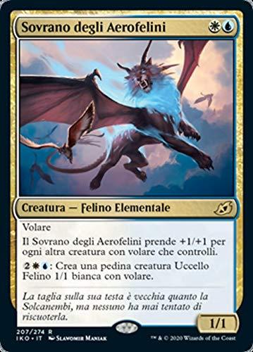 Magic : The Gathering MTG - Skycat Sovereign - Sovrano Degli Aerofelini - Ikoria: Lair of Behemoths IKO 207/388 Foil Italiano(Italian)