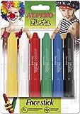 Alpino DL000014, Barritas de Maquillaje Fiesta, Estuche 6 Unidades