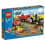 LEGO City 7684 - Granja de cerdos y tractor [versión en inglés]