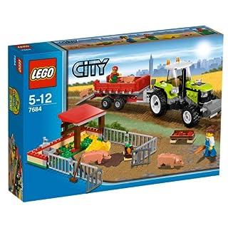 LEGO City 7684 - Ferkel-Gehege mit Traktor (B002KCNVAW)   Amazon price tracker / tracking, Amazon price history charts, Amazon price watches, Amazon price drop alerts