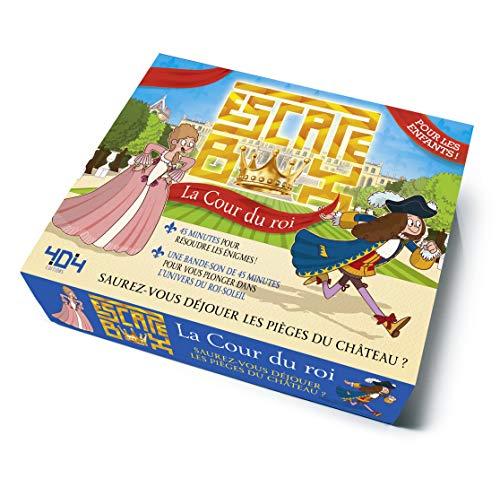 Escape Box La Cour du roi - Escape game enfant de 2 à 5 joueurs - De 8 à 12 ans
