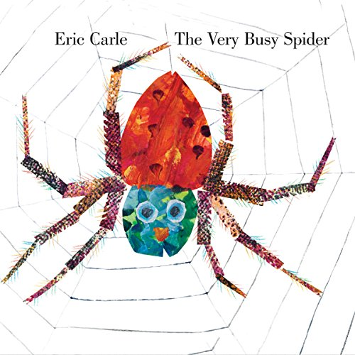 The Very Busy Spider audiobook cover art
