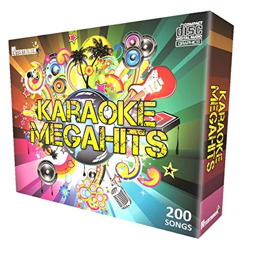Karaoke CDG Disc Pack. Mr Entertainer Megahits Family Party. Las 200 mejores canciones de todos los tiempos, antiguas y nuevas.