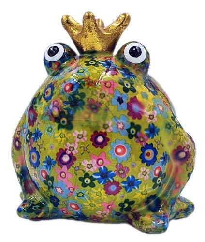 Spardose Frosch Freddy Pomme Pidou Größe M, Farbe Grün