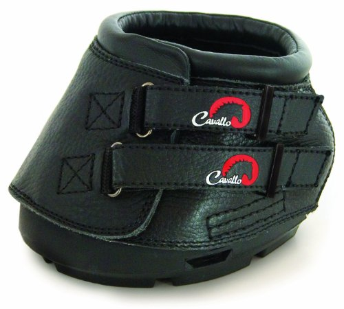 Cavallo Simple Hoof Boot for Horses, Size 2, Black