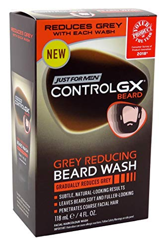 Just For Men Control Gx 4 Ounce Beard Wash Boxed (118ml) (3 Pack)