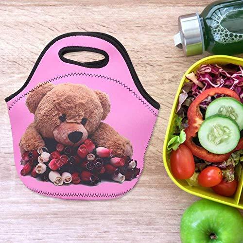 Bolsa térmica para el almuerzo Práctica y hermosa bolsa para el almuerzo, adecuada para llevar almuerzos, frutas, refrigerios, etc.
