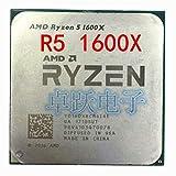 R5 1600X 6-Core Socket AM4 3.6G CPU 6-Core Processor R5-1600X Ryzen 5 1600X Working 100%