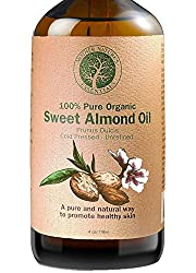 Sweet almond oil relaxing push present idea