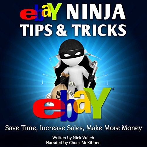 eBay Ninja Tips & Tricks audiobook cover art