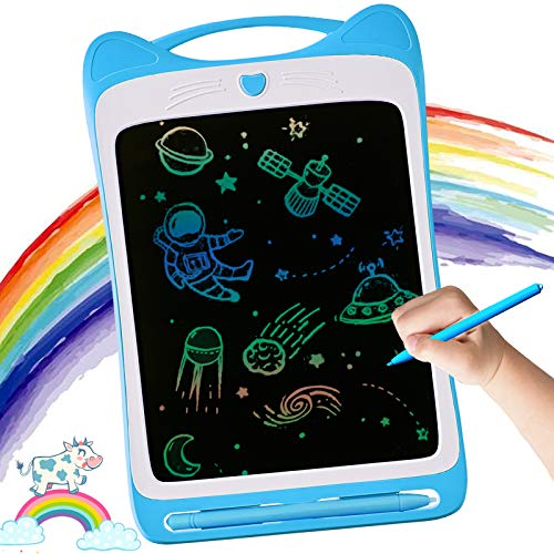 LODBY LCD Drawing Board Toys for 3-6 Year Old Boys Gifts, Electronic Writing Board for Kids Christmas Birthday Gifts for Age 2-6 Year Old Boys, Drawing Sketch Pad Toys for Age 2-6 Year Old Boys