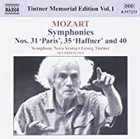 Mozart: Symphonies Nos. 31, 35 & 40