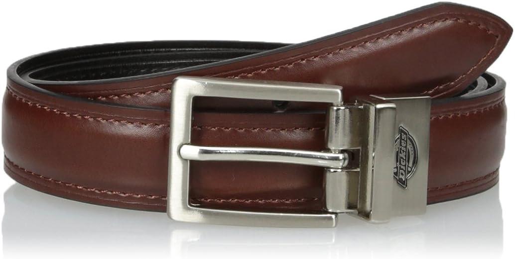 Dickies Boys' Feather Edge Dress Reversible Belt