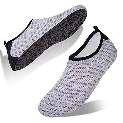 YALOX Water Shoes Swim Shoes Water Socks Women's Men's Beach Swimming Aqua Socks Quick-Dry Shoes Surfing Yoga Pool Exercise