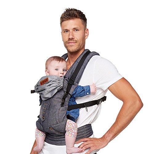 ByKay Deluxe 4 Posición carrito de bebé, oscuro Jeans
