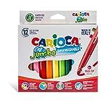 Carioca 07535 - Pack de 12 rotuladores, multicolor