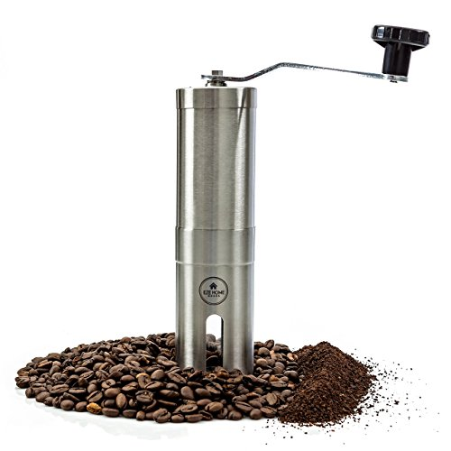 EZE Homegoods Hand Coffee Mill Grinder with Conical...