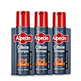 Alpecin 3-Pack Caffeine Shampoo C1 Hair Recharger - 250mL