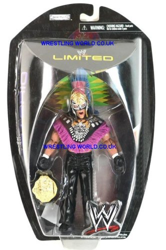 WWE Ruthless Aggression Limited Edition  Rey Mysterio (w/ Aztec Headress) Action Figure by Toy Rocket