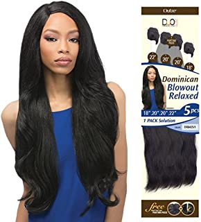 OUTRE Synthetic Hair Weave Batik Duo Dominican Blow Out Relaxed 5PCS (1)