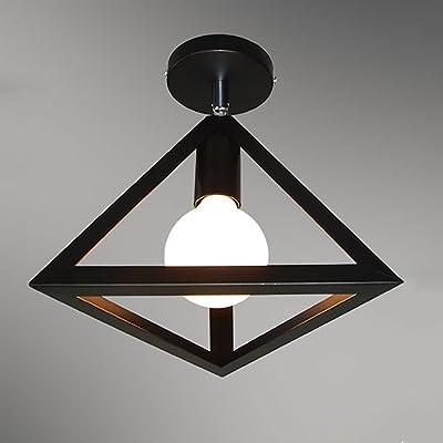 JDMYL Luz de Techo Retro, lámpara de Pared de Viento ...