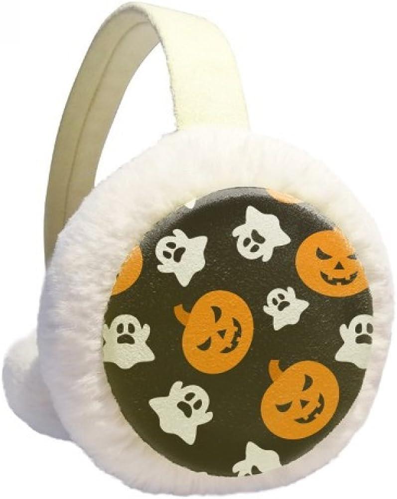 Pumpkin Halloween Direct sale of manufacturer Hallowmas Ghost Winter Knit Ear San Jose Mall F Warmer Cable